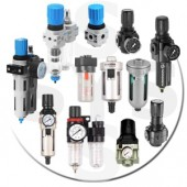 Air Service Unit Pneumatic (Filter, Regulator, Lubricator)